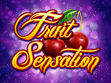 Автомат Fruit Sensation на деньги