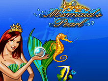 Играть онлайн в автомат Mermaid's Pearl на деньги
